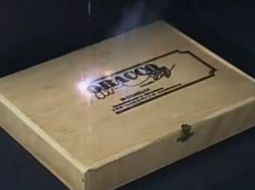 Marcação em Caixotes de Madeira - Sistema de Marcação a Laser