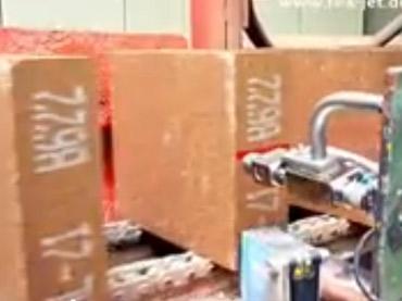 Marcação em Tijolos - Sistema Spray para Pontos, Faixas e Caracteres